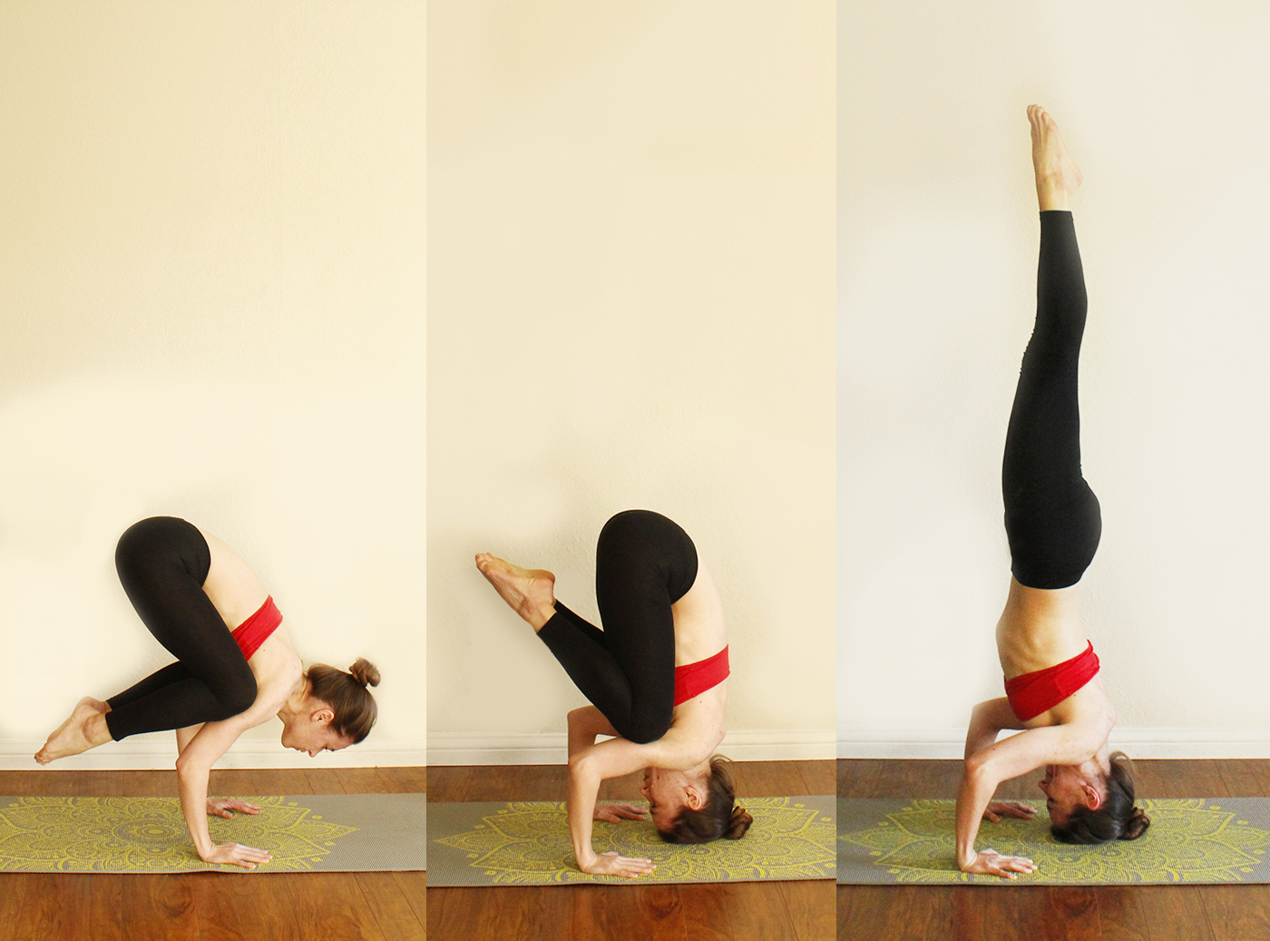 Tripode Headstand